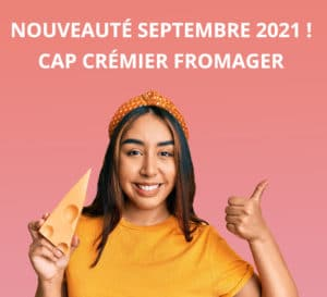 CAP CREMIER FROMAGER TEASING