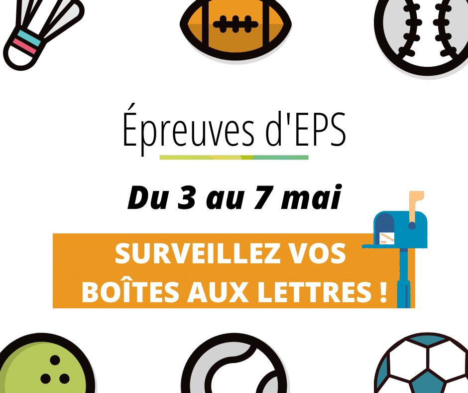 EPREUVES EPS